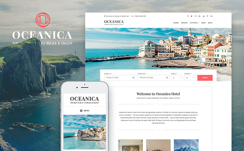 WordPress Theme Oceanica