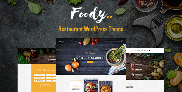WordPress Theme Foody